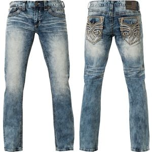 afflicition ace fleur flectch new embroidery